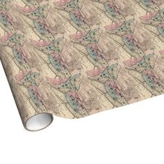 Vintage Map of Trenton NJ (1872) Wrapping Paper $16.95