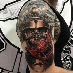 Tatouage samourai – Le tattoo des guerriers en 40 photosn