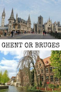 Hidden gems and the best kept secrets of Ghent, the most overlooked and underrated city in Belgium. A Complete Guide to the best of unusual, offbeat, hidden, and quirky things to do in Ghent European Destination, European Travel, Europe Travel Guide, Travel Guides, France Travel, Travel Advice, Cool Places To Visit, Places To Travel, Bucket List Europe