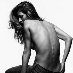Fashiontography: Gisele Bündchen by Hedi Slimane