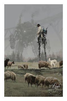 Steampunk Tendencies New illustrations from Jakub Rozalski's Arte Sci Fi, Sci Fi Art, Steampunk Kunst, Steampunk Dress, Victorian Steampunk, Sci Fi Kunst, Science Fiction Kunst, Science Art, Arte Cyberpunk