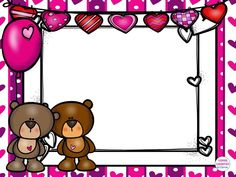 ee Valentines Day Border, Valentine Ideas, School Doors, Borders And Frames, Christmas Home, Mickey Mouse, Preschool, Banner, Clip Art