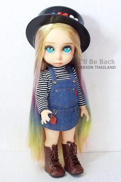 Disney Animator Doll Form Lekion Thailand Hair Style By Lekion Thailand Make Up By Lekion Thailand Photographer By Lekion Thailand