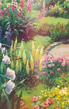 """"""" Ghibli Scenery iPhone Backgrounds """""""