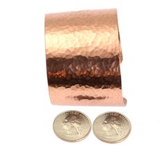 Just Listed Best Hammered Copper Cuff Bracelet https://www.johnsbrana.com/products/hammered-copper-cuff-bracelet