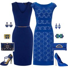 Two in Blue by squirlsnest on Polyvore featuring Gina Bacconi, Oasis, Casadei, Qupid, J.Crew, ALDO, Tory Burch, Stella & Dot, Amrita Singh and Sparkling Sage