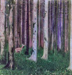 Ελάφι στο Πυκνό Δάσος