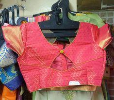 Salwar Neck Designs, Pattu Saree Blouse Designs, Blouse Designs Silk, Designer Blouse Patterns, Kids Blouse Designs, Simple Blouse Designs, Stylish Blouse Design, Bridal Tips, Work Blouse