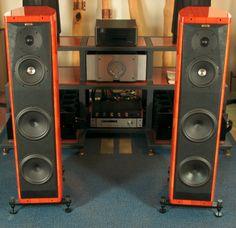 sonus faber amati homage Loudspeaker, Audio Equipment, Audiophile, Speakers, Corner Desk, How To Look Better, Retro, Furniture, Home Decor