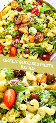 We all need a variety of salads for the BBQ and picnic season, that is upon us and my Green Goddess Pasta Salad recipe is sure to become a firm favourite.