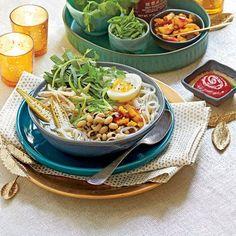 Black-Eyed Pea Recipes: Hoppin' John Noodle Bowls