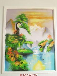 Vẽ tranh tường phong thủy trang trí phòng khách bằng những bức tranh phong thủy hợp bản mệnh đem lại may mắn tài lộc cho gia chủ. Liên hệ 0917537927-H.Duy
