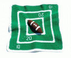 Baby Lovey Football Field Football Lovey by EnchantingCreations7