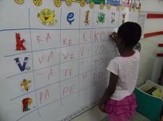 Terrific Screen preschool centers literacy Concepts : Environment up locations inside preschool in addition to kindergarten classrooms generally is a rather challenging task Preschool Centers, Preschool Literacy, Activity Centers, Kindergarten Classroom, Literacy Centers, Montessori Education, Pre Writing, Exercise For Kids, Fun To Be One