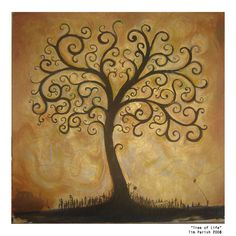 Tree of Life represents a constant desire to grow and reach higher every day.