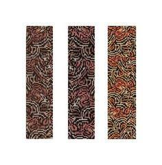 Loom or 1 Drop Even Peyote Pattern - Tiger Mutation Cuff Bracelet. $4.00, via Etsy.