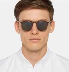 bab381746d Men s Designer Sunglasses. Polarized SunglassesMens SunglassesRound Frame  SunglassesGregory PeckOptical GlassesAtticusMr PorterOliver PeoplesMan Shop