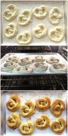 Hot Buttered Soft Pretzels | King Arthur Flour