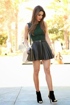Look: Camila Coelho - Green Girlie