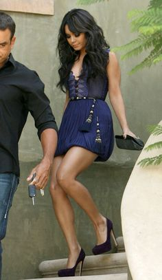 Vanessa Hudgens High Heels