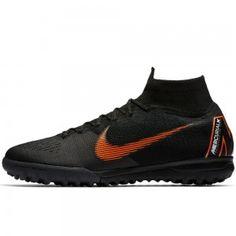 2d0f984cbf Nike Mercurial SuperflyX VI Elite TF Turf Soccer Shoes Black-Total  Orange-White