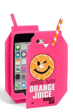 SKINNY+DIP+Skinnydip+'Orange+Juice'+iPhone+6+Case+available+at+#Nordstrom