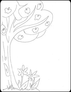 1000 Images About Coloring Pages Whimsical On Pinterest Whimsical Tree Coloring Page