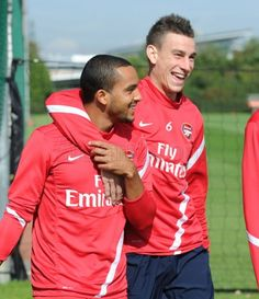 Walcott and Koscielny..Love them!