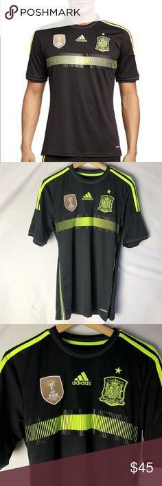 ADIDAS FEF SPANIEN Trikot Damen Fußball Heim Trikot T Shirt