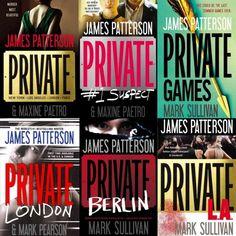"James Patterson's ""Jack Morgan"" series."