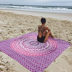 Freedom Mandala in Pink/purple Ombre Hippie Tapestry, Hippy Mandala Bohemian Tapestries, Indian Dorm Decor, Psychedelic Tapestry Wall Hanging Ethnic Decorative (Multi Color) Tapestry Pink, Tapestry Bedding, Dorm Tapestry, Indian Tapestry, Mandala Tapestry, Tapestry Wall Hanging, Mandala Throw, Bohemian Bedspread, Bohemian Tapestry