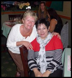 Ann & Susan at the Mandarin 2014