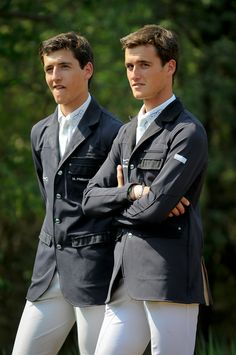 The Philippaerts brothers. They're hot. They're equestrians. And there's TWO of them!
