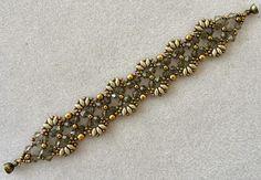 Linda's Crafty Inspirations: Bracelet & Earrings Set - Flutter & Marquesa