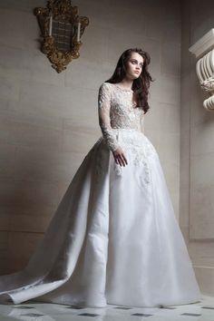 Preciosos Vestidos de Alta Costura por Robert Abi Nader 2015 - Vestidos Mania