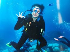 I scuba dived the Great Barrier Reef and it was phenomenal #cairns #summer #greatbarrierreef #diving #me by inked.oceans http://ift.tt/1UokkV2