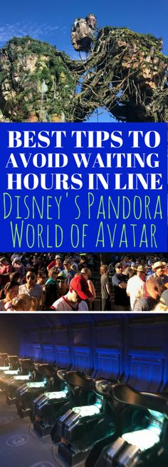 The best tips to avoid waiting hours in line at Disney's Pandora - The World of Avatar! Want to know what time to arrive at Disney's Animal Kingdom if you don't have a FastPass+ reservation? I'll give you my family's experience of when we arrived early for rope drop.
