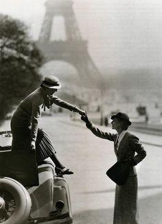 #paris #1930s ladies fashions