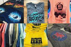 Printed Shirts, Screen Printing, Prints, How To Make, T Shirt, Tops, Women, Fashion, Screen Printing Press