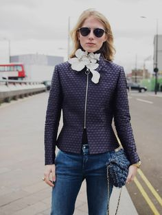 Street Muses...Mary Katrantzou Autumn/Winter 2016...LFW, London