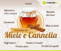 Miele e cannella: proprietà e benefici