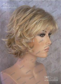 short layered hair wigs - Google Search