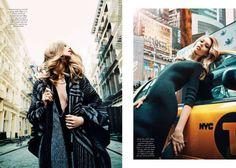 Ondria Hardin for David Mandelberg for Harper's Bazaar Australia September 2014