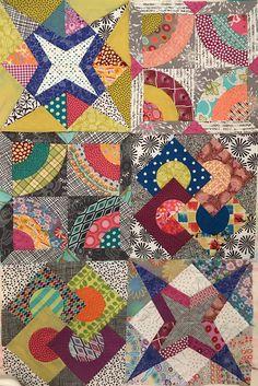 My first 6 blocks!! Delilah Quilt BOM #delilahquilt #delilahbom #jenkingwell
