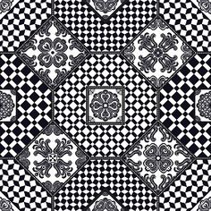 Textures Texture seamless | Patchwork tile texture seamless 16813 | Textures - ARCHITECTURE - TILES INTERIOR - Ornate tiles - Patchwork | Sketchuptexture
