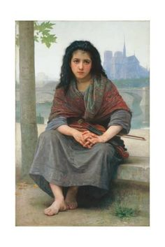 The Bohemian, 1890 Giclee Print by William Adolphe Bouguereau at Art.com