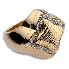 David Yurman Diamond Ring in 18KT Yellow Gold $2,495