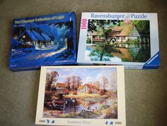 New puzzles. Ravensburger Puzzle, New Puzzle, Summer Days, Jigsaw Puzzles, Cover, Art, Art Background, Kunst, Blankets
