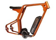 HopMod Electric Bike Frame Kickstarter mounting options