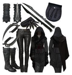 Bad Girl Outfits, Edgy Outfits, Teen Fashion Outfits, Mode Outfits, Fashion Women, Women's Fashion, Warrior Outfit, Badass Outfit, Cosplay Outfits